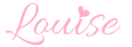 louise name signature transparent background
