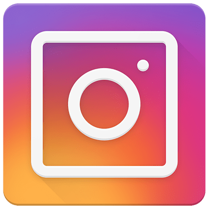 instagram icon with transparent