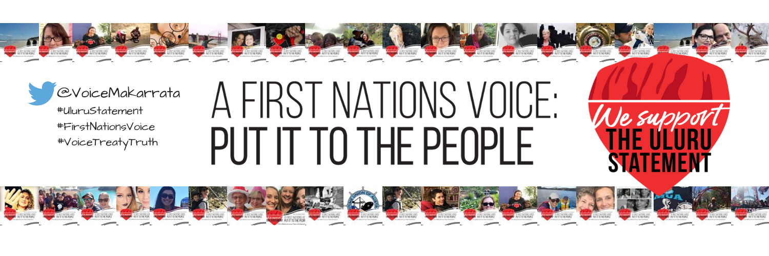 Twitter header- Uluru Statement from the Heart_ First Nations Voice_ Put It to the People